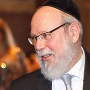 NLD/Amsterdam/20160121 - Uitreiking Taalhelden prijzen 2016 door Prinses Laurentien, Rabbi Raphael Evers