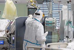 REPARTO TERAPIA INTENSIVA COVID COVID19 COVID-19 CORONAVIRUS VIRUS OSPEDALE DEL DELTA LAGOSANTO