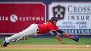Toronto Blue Jays prospect, and top MLB prospect, Vladimir Guerrero Jr. plays as the Reading Fightin Phils host New Hampshire Fisher Cats July 23, 2018, at FirstEnergy Stadium in Reading, Pennsylvania.