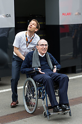 21.06.2015, Red Bull Ring, Spielberg, AUT, FIA, Formel 1, Grosser Preis von Österreich, Rennen, im Bild Teammanager Sir Frank Williams, (GBR, Williams Martini Racing) // during the Race of the Austrian Formula One Grand Prix at the Red Bull Ring in Spielberg, Austria, 2015/06/21, EXPA Pictures © 2015, PhotoCredit: EXPA/ JFK