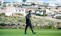 08/01/15 <br /> CELTIC TRAINING <br /> SALOBRE GOLF RESORT - GRAN CANARIA <br /> Celtic Manager Ronny Deila sets up on the training field