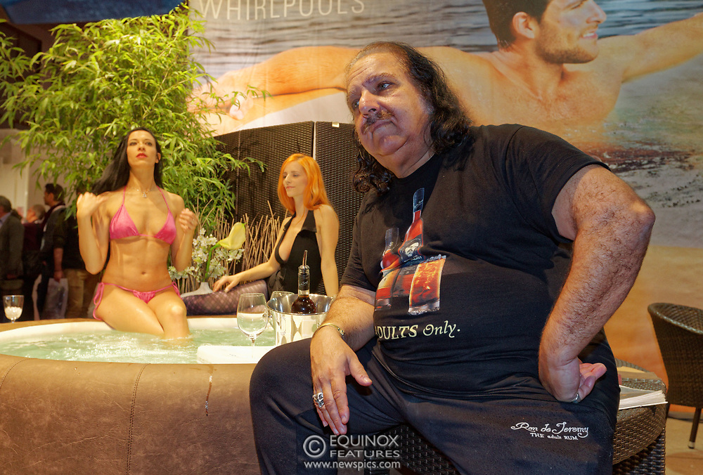 Berlin, Germany - 18 October 2012<br /> Porn star Ron Jeremy promoting his 'Ron Jeremy' brand of rum at the Venus Berlin 2012 adult industry exhibition in Berlin, Germany. Ron Jeremy, born Ronald Jeremy Hyatt, has been an American pornographic actor since 1979. He faces sexual assault allegations which he strenuously denies. There is no suggestion that any of the people in these pictures have made any such allegations.<br /> www.newspics.com/#!/contact<br /> (photo by: EQUINOXFEATURES.COM)<br /> Picture Data:<br /> Photographer: Equinox Features<br /> Copyright: ©2012 Equinox Licensing Ltd. +448700 780000<br /> Contact: Equinox Features<br /> Date Taken: 20121018<br /> Time Taken: 12084234