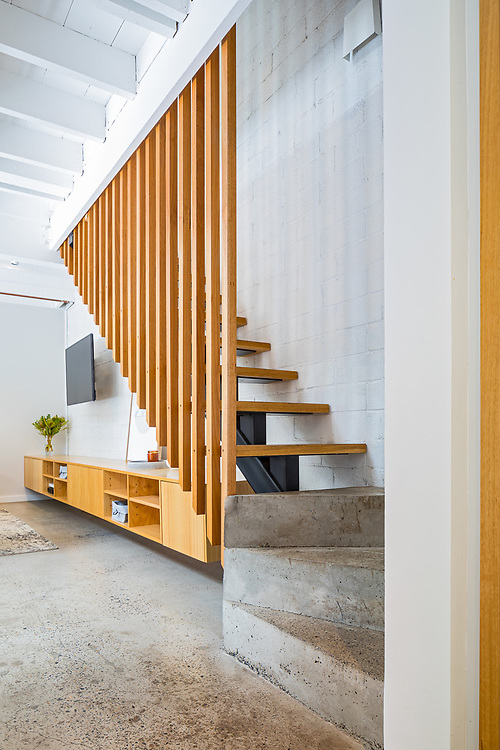 contemporary alexandria terrace stairs