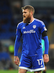 Aron Gunnarsson of Cardiff City - Mandatory by-line: Nizaam Jones/JMP - 03/12/2016 -  FOOTBALL - Cardiff City Stadium - Cardiff, Wales -  Cardiff City v Brighton and Hove Albion - Sky Bet Championship