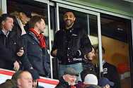 Callum Wilson (13) of AFC Bournemouth in the stands before the The FA Cup 3rd round match between Bournemouth and Brighton and Hove Albion at the Vitality Stadium, Bournemouth, England on 5 January 2019.