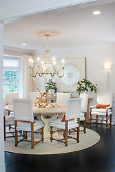 5165 Rockwood Parkway, NW Washington, DC Michele Seiver interior designer Dining Room