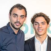 NLD/Amsterdam/20161005 - Filmpremiere Tonio, Bobby Boermans en broer Thijs Boermans