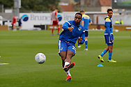 Bristol Rovers forward Victor Adeboyejo during the EFL Sky Bet League 1 match between Bristol Rovers and Accrington Stanley at the Memorial Stadium, Bristol, England on 7 September 2019.