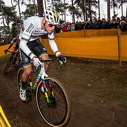 26-12-2019: Cycling: CX Worldcup: Heusden-Zolder: Mathieu van der Poel pictured in action in  Heusden Zolder