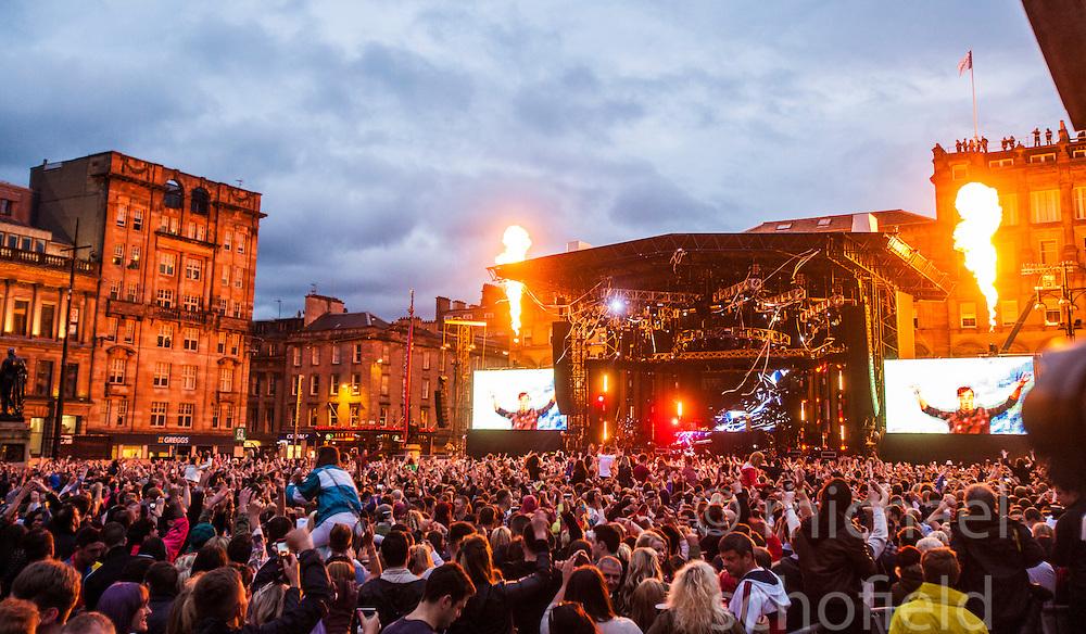Friday night DJ set from George Square, BBC Radio 1's Big Weekend Glasgow 2014.