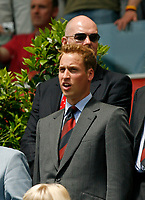 Photo: Glyn Thomas.<br />England v Paraguay. Group B, FIFA World Cup 2006. 10/06/2006.<br /> Prince William sings the national anthem.