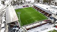 JÄMTKRAFT ARENA 2020-04-05<br /> Bilder på Jämtkraft Arena dagen för den planerade premiären i Allsvenskan. Arenan ligger öde och den Allsvenska starten är uppskjuten.<br /> <br /> Foto: Per Danielsson/Projekt.P