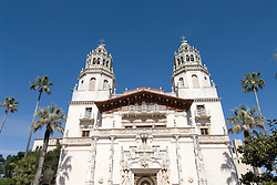 California, San Luis Obispo County: Hearst Castle State Park, formerly the palatial hillside home of publisher William Randoph Hearst..Photo caluis201-71269.Photo copyright Lee Foster, www.fostertravel.com, 510-549-2202, lee@fostertravel.com