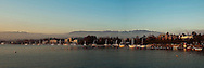 Morning Panorama Lake Zurich Switzerland
