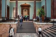 Londyn 2009-10-24. Galeria Narodowa, czołowe muzeum sztuki i jedna z najbogatszych na świecie kolekcji malarstwa europejskiego.