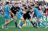 Rome, Italy -In the photo  during .Olympic stadium in Rome Rugby test match Cariparma.Italy vs New Zealand (All Blacks). (Credit Image: © Gilberto Carbonari).