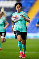 Brighton & Hove Albion forward  Lee Geum-Min (9) during the FA Women's Super League match between Birmingham City Women and Brighton and Hove Albion Women at St Andrews, Birmingham United Kingdom on 12 September 2021.
