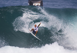 December 11, 2017 - Banzai Pipeline, HI, USA - BANZAI PIPELINE, HI - DECEMBER 11, 2017 - Kelly Slater of the United States competes in the first round of the Billabong Pipe Masters. (Credit Image: © Erich Schlegel via ZUMA Wire)