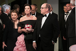 Princess Caroline of Hanover and Prince Albert II of Monaco attend the Rose Ball 2019 at Sporting in Monaco, Monaco on March 30, 2019. Photo by Jacques Witt-Pool/ABACAPRESS.COM