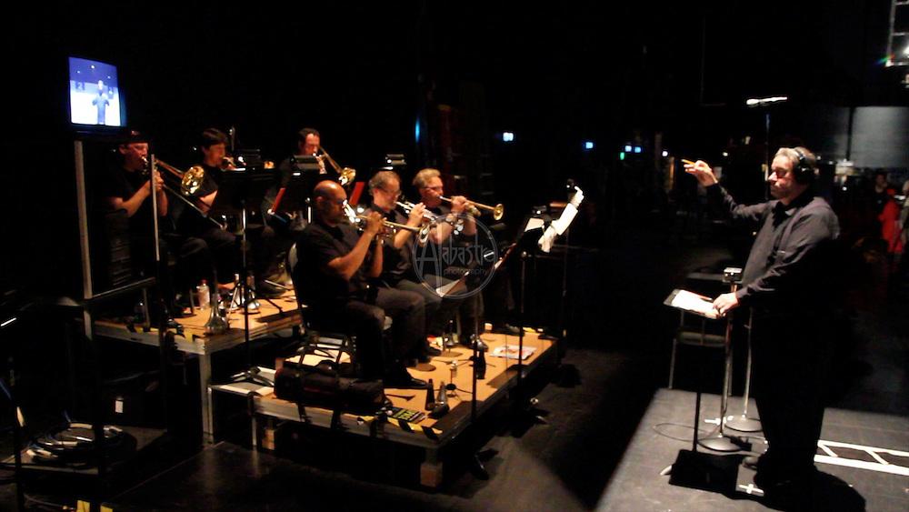 Seattle Opera's production of Turandot, Aug. 17, 2012. Banda and Chorus.