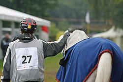 Ceuninck Valerie-Kouros des Iviers<br /> World Equestrian Games Aachen 2006<br /> Photo © Hippo Foto