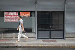 May 25, 2019 - 24/5/2019. San José. Recorrido por el centro de San José buscando locales cerrados y que se estén alquilando. Foto Jeffrey Zamora (Credit Image: © Jeffrey Zamora/La Nacion via ZUMA Press)