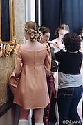 PROVIDENCE, RI - FEB 13: backstage during the Jess Abernethy show as part of StyleWeek NorthEast on February 13, 2015 in Providence, Rhode Island. (Photo by Cat Laine)