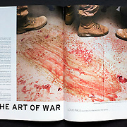 Opening spread in Canadian Art Magazine from a 7-page feature article on Louie's work. Written by Noah Richler. (Credit Image: © Louie Palu/ZUMA Press)
