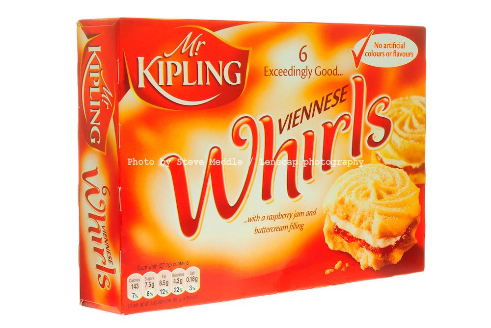 Box of Mr Kipling Viennese Whirls