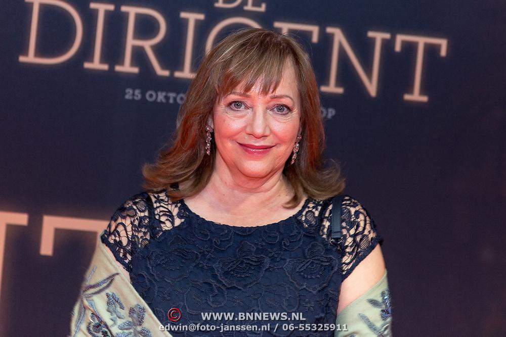 NLD/Amsterdam/20181023 -  Film premiere De Dirigent, Maria Peters