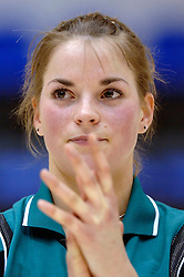 04-03-2006 VOLLEYBAL: FINAL 4 DAMES: HCC MARTINUS - DROS ALTERNO: ROTTERDAM<br /> Martinus was veel te sterk voor de dames uit Apeldoorn (3-0) / Jantine van de Vlist<br /> Copyrights 2006 WWW.FOTOHOOGENDOORN.NL