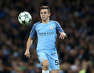 Pablo Maffeo of Manchester City during the Champions League Group C match at the Etihad Stadium, Manchester. Picture date: December 6th, 2016. Pic Simon Bellis/Sportimage