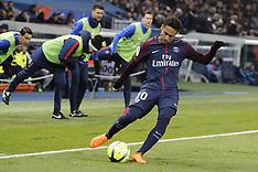 PSG v Marseille - 25 Feb 2018