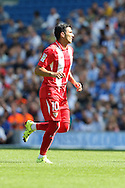 Jose Antonio Reyes of Sevilla during the Pre-Season Friendly match between Brighton and Hove Albion and Sevilla at the American Express Community Stadium, Brighton and Hove, England on 2 August 2015. Photo by Stuart Butcher.