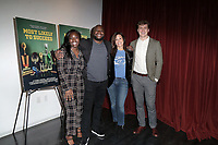 Quay Lewis, Charles Rider, Pamela Littky, Peter Hayes at Most Likely To Succeed Los Angeles Premiere held at Laemmle Monica Film Center on December 05, 2019 in Santa Monica, California, United States (Photo by Jc Olivera/VipEventPhotography.com)