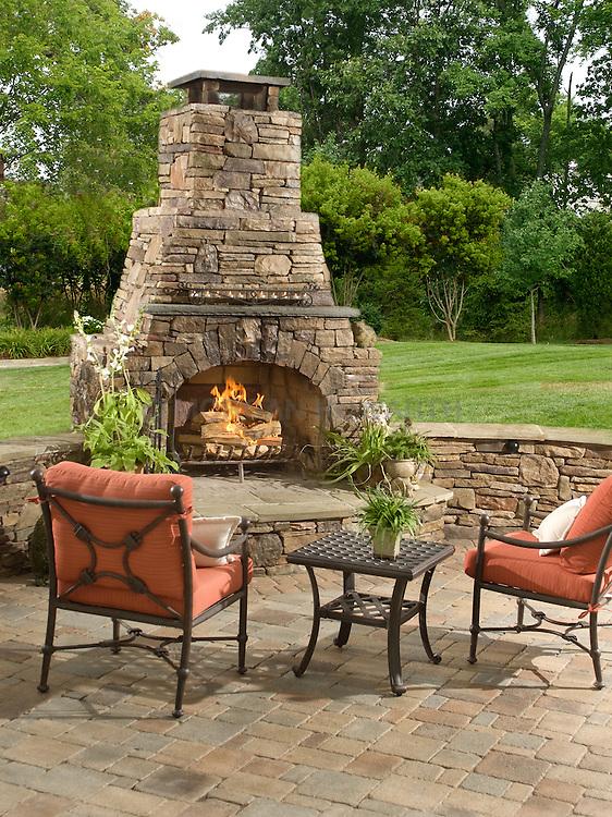 fireplace. Deck patio Verandah Porch VA1-803-266