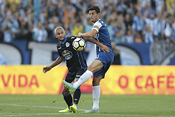July 30, 2017 - Porto, Porto, Portugal - Porto's Spanish defender Ivan Marcano (R) during the pre-season friendly between FC Porto and Deportivo da Corunha, at Dragao Stadium on July 30, 2017 in Porto, Portugal. (Credit Image: © Dpi/NurPhoto via ZUMA Press)
