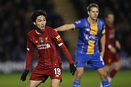 FA Cup Shrewsbury v Liverpool 26/01