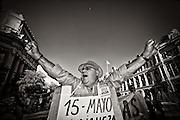 The Movement 15M at its peak did not distinguish age