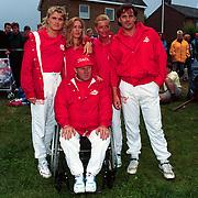 Sterrenslag 1996 op Texel, o.a. Hans Klok, Sittah, Hanny, Gerard Joling en Koos Alberts
