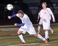 Amherst battled Avon in a boys varsity District Final soccer contest at Avon Middle School on October 27, 2011.