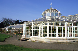 Exterior of the Camellia House  at Chiswick House