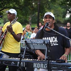 2011 Jamaica Underwear Run, part of the Nautica New York City Triathlon, in Central Park.