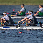 Chris Harris and John Storey New Zealand Mens Double Scull World Champions 2017<br /> <br /> Finals races at the World Championships, Sarasota, Florida, USA Saturday 30 September 2017. Copyright photo © Steve McArthur / www.photosport.nz