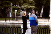 Taylor Schilling strolls in Madrid