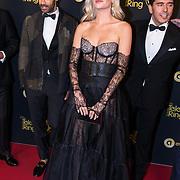 NLD/Amsterdam/20191009 - Uitreiking Gouden Televizier Ring Gala 2019, Davina Michelle en Alain Clark