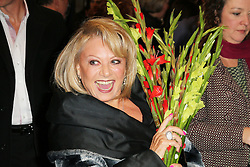Elaine Paige, Barry Humphries Eat, Pray, Laugh - press night, London Palladium, London UK, 15 November 2013, Photo by Richard Goldschmidt © Licensed to London News Pictures. Photo credit : Richard Goldschmidt/Piqtured/LNP