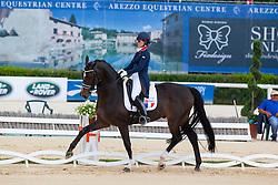 Ducos Blanchet Alexia (FRA) - Donnatello<br /> European Championships Dressage Junior and Young Riders 2014<br /> © Hippo Foto - Leanjo de Koster