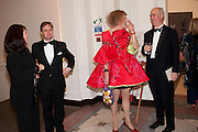 IAN PALMER; MONIQUE PALMER; GRAYSON PERRY; CHARLES SAUMERAZ SMITH, Royal Academy Schools Annual dinner and Auction 2012. Royal Academy. Burlington Gdns. London. 20 March 2012.