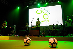 Siddharta at official presentation of Slovenian National Football team for World Cup 2010 South Africa, on May 21, 2010 in Congress Center Brdo at Kranj, Slovenia. (Photo by Vid Ponikvar / Sportida)